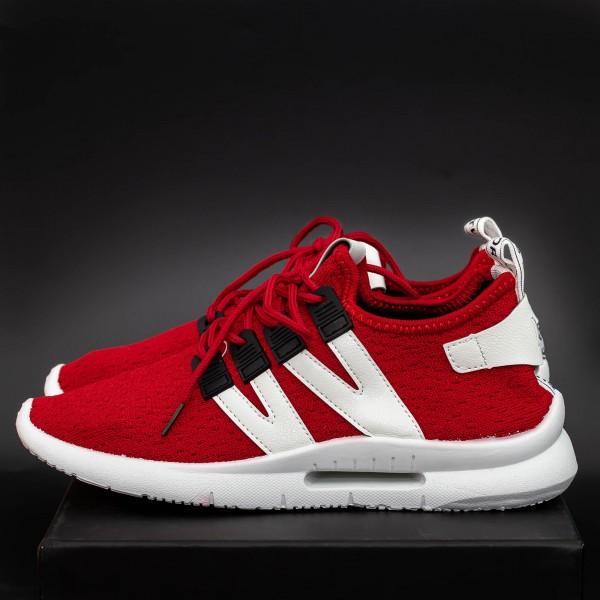 Pantofi Sport Barbati B12 Red Mei