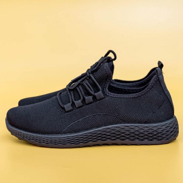Pantofi Sport Barbati D755 Black Mei