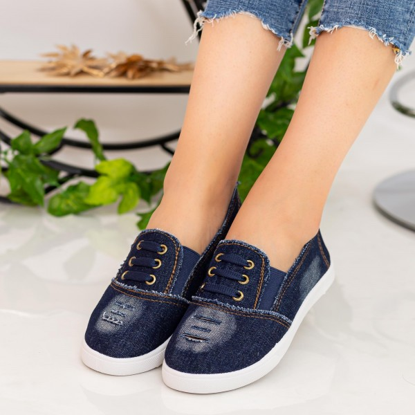 Espadrile Dama H878 Navy Fashion