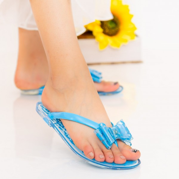 Papuci Dama 588-005 Blue Mei
