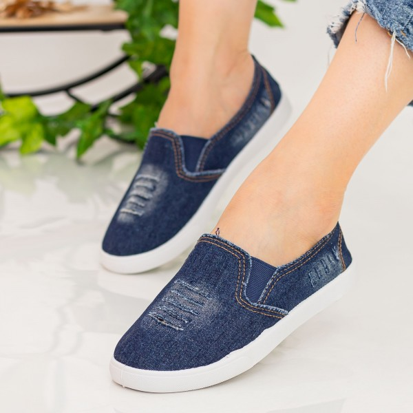 Espadrile Dama H827 Navy Fashion