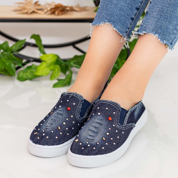 Espadrile Dama E40 Navy Fashion