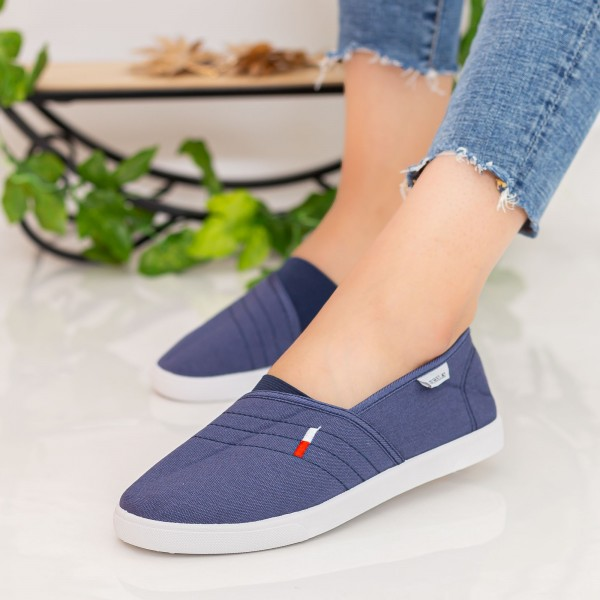 Espadrile Dama H608 Navy Fashion