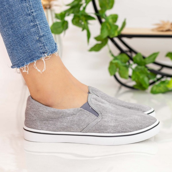 Espadrile Dama H814 Grey Fashion