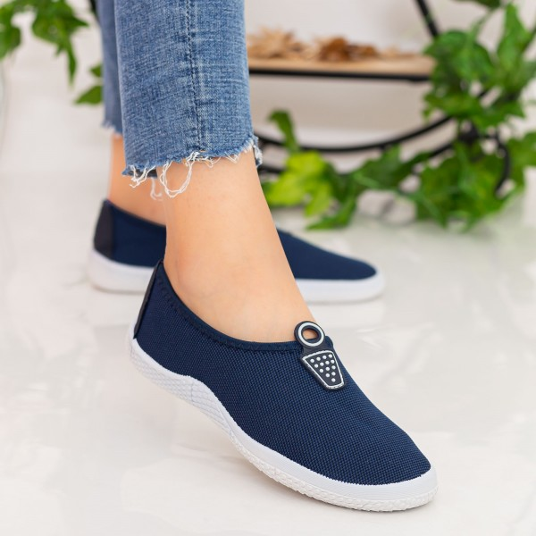 Espadrile Dama H825 Navy Fashion