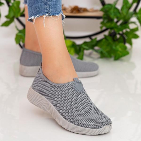 Pantofi Sport Dama W5 Grey Fashion