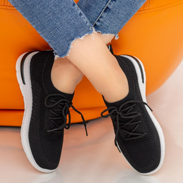 Pantofi Sport Dama KDN1A Black Mei