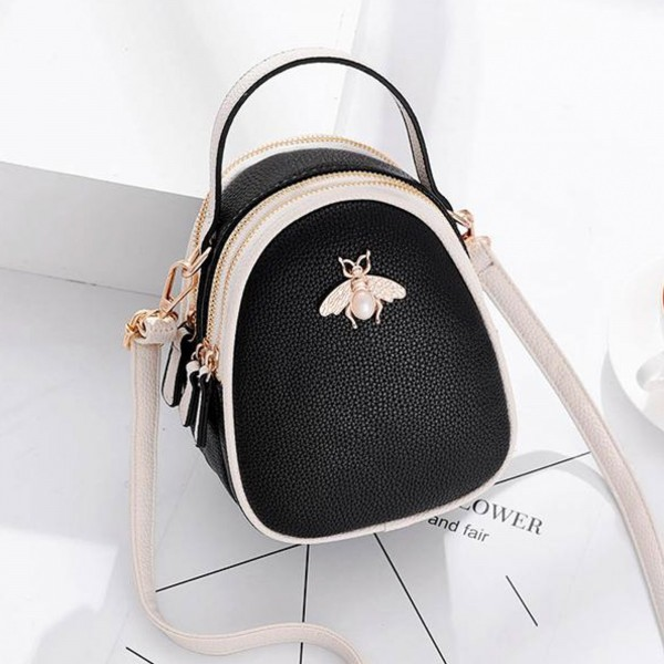 Rucsac Dama 113 Black (F03) Fashion 113 BLACK Fashion