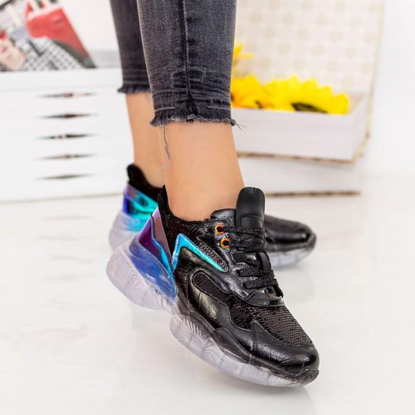 Pantofi Sport Dama X616 Black Se7en