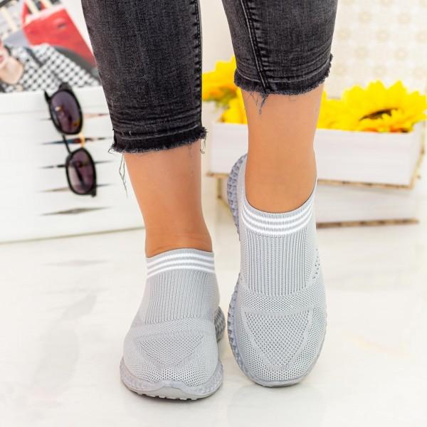 Pantofi Sport Dama X2920 Grey Se7en