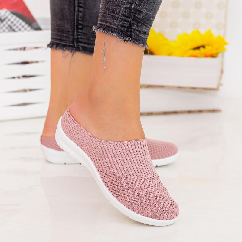 Espadrile Dama X2922 Pink Se7en