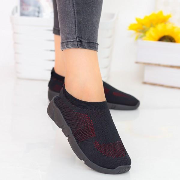 Pantofi Sport Dama E223 All Black Fashion