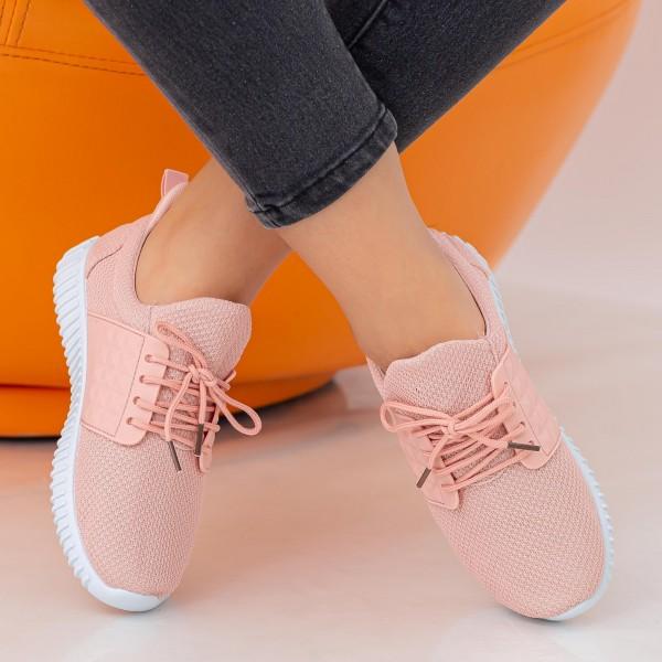 Pantofi Sport Dama E232 Pink Fashion