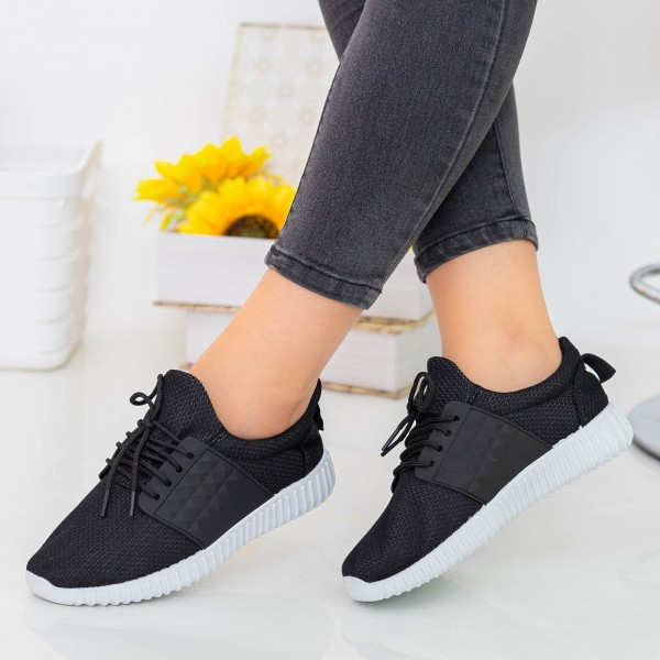 Pantofi Sport Dama E232 Black Fashion