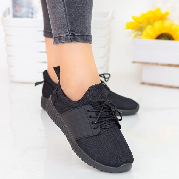 Pantofi Sport Dama E232 All Black Fashion