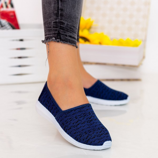 Espadrile Dama E29 Navy Fashion