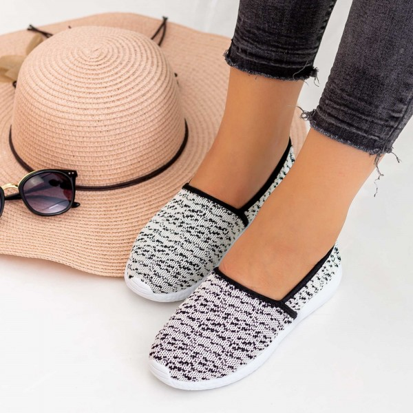 Espadrile Dama E29 White Fashion