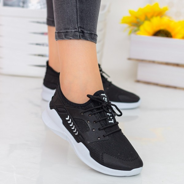 Pantofi Sport Dama E230 Black Fashion