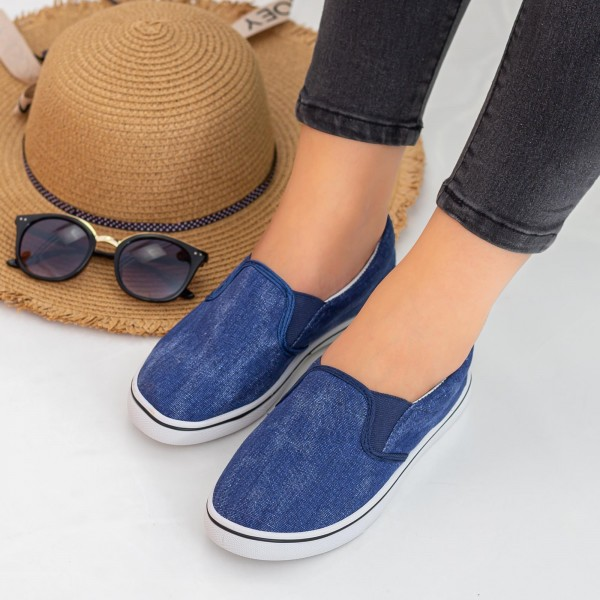 Espadrile Dama H814 Navy Fashion