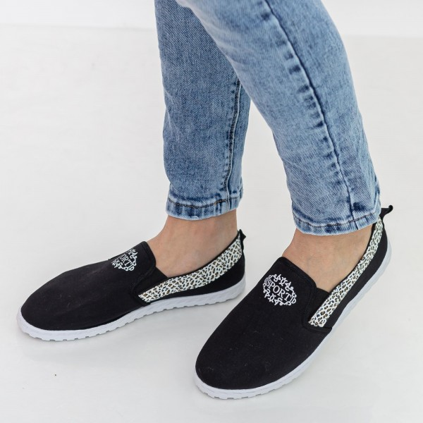 Espadrile Barbati E3 Black Fashion