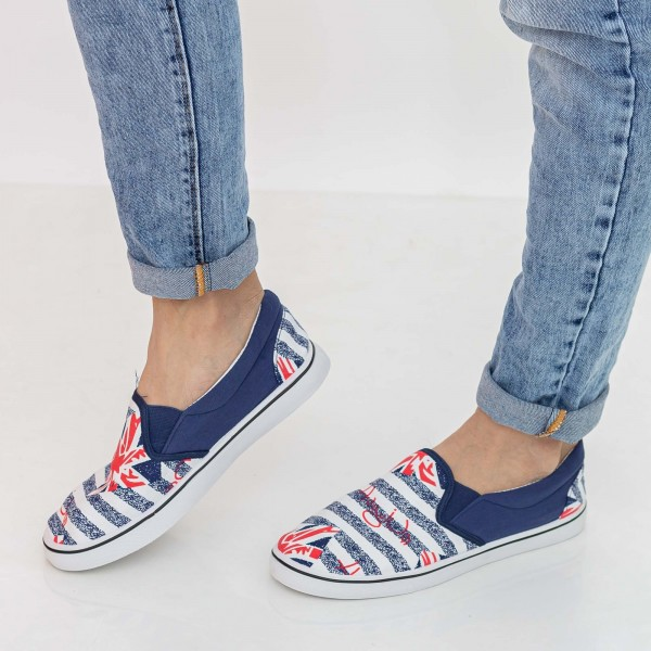 Espadrile Barbati H816 Navy Fashion