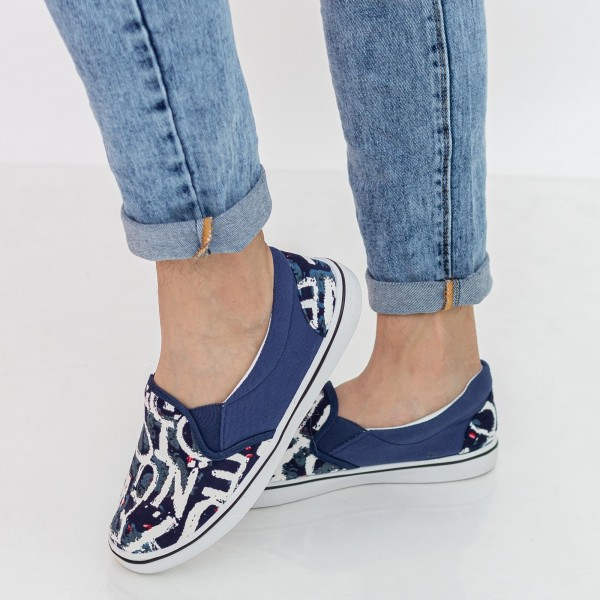 Espadrile Barbati H815 Navy Fashion