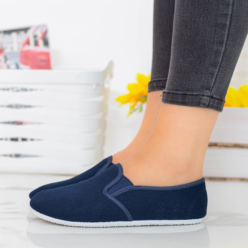 Espadrile Dama H12 Navy Fashion