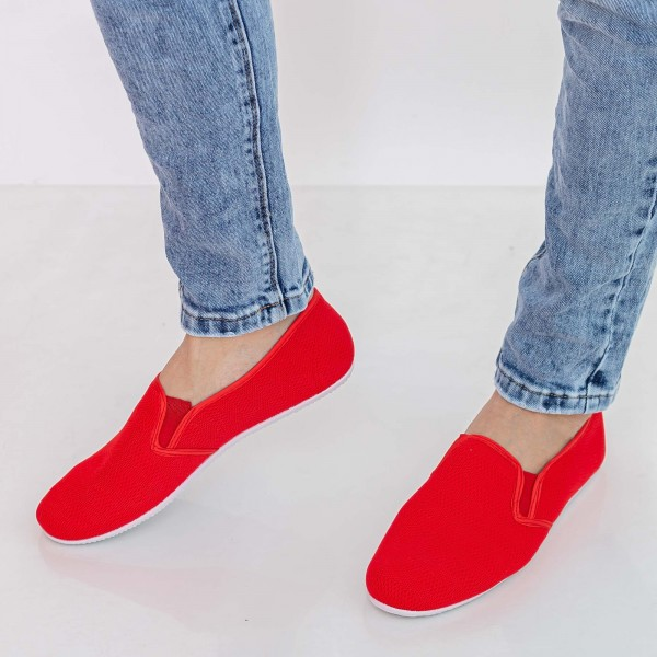 Espadrile Barbati H12 Red Fashion