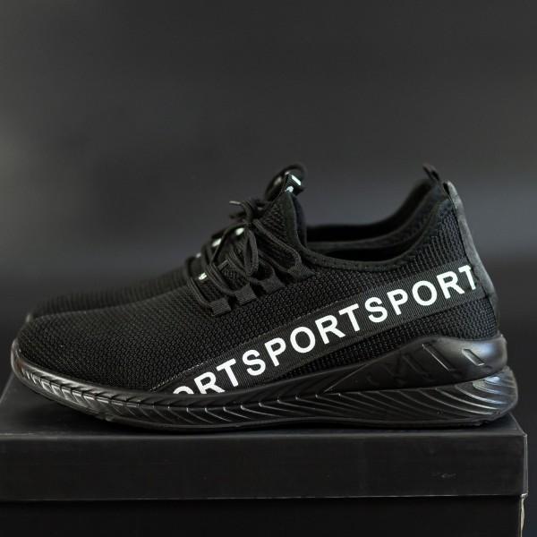 Pantofi Sport Barbati D806 Black-White Se7en