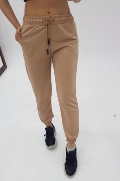 Pantaloni Trening Dama 4093 Bej Fashion