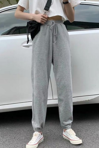 Pantaloni Trening Dama 4093 Gri Fashion