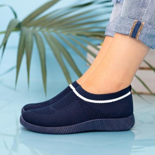 Pantofi Sport Dama MD8809 Dark Blue Alina