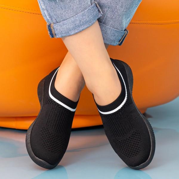 Pantofi Sport Dama MD8809 Black Alina