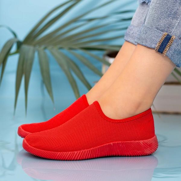 Pantofi Sport Dama MD8816 Red Alina