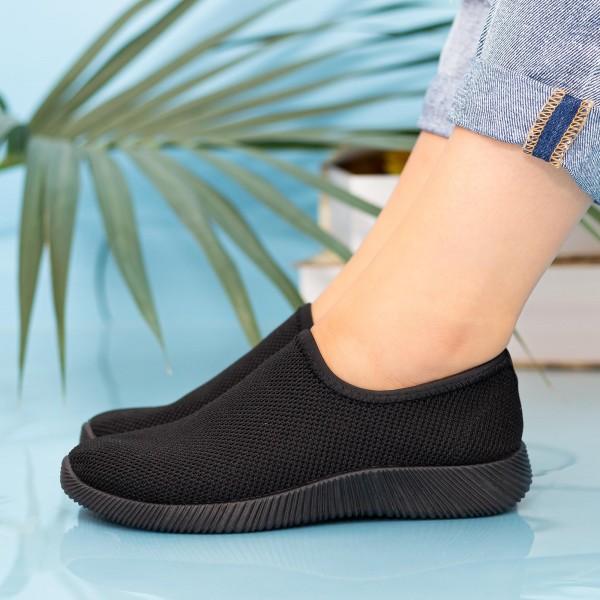 Pantofi Sport Dama MD8816 Black Alina