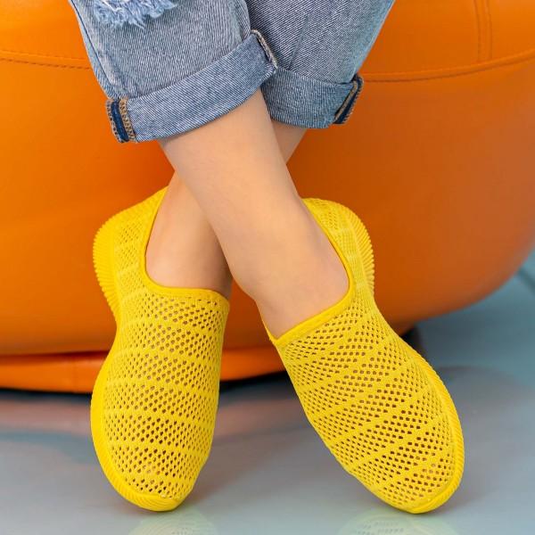 Pantofi Sport Dama M003 Yellow Mao