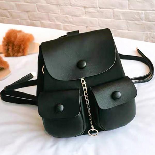 Rucsac Dama 51005 Black (---) Fashion 51005 BLACK Fashion