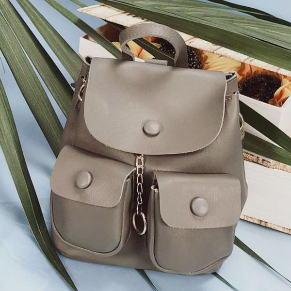 Rucsac Dama 51005 Grey (---) Fashion 51005 GREY Fashion