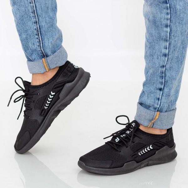 Pantofi Sport Barbati E230 All Black Mei