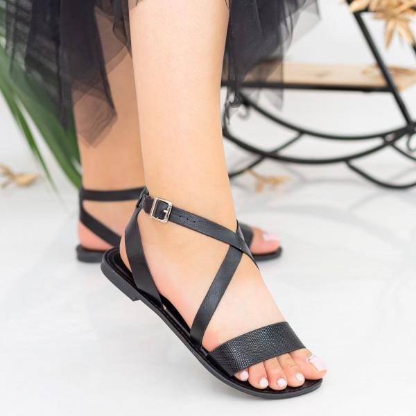 Sandale Dama FS10 Black Mei