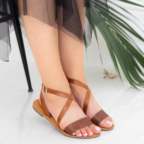 Sandale Dama FS10 Camel Mei
