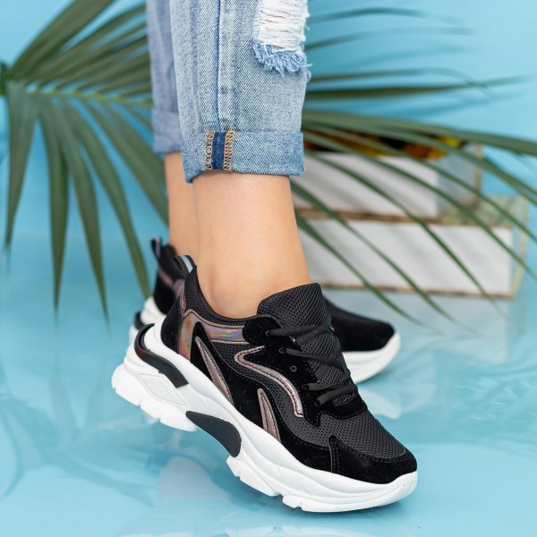 Pantofi Sport Dama XC11 Black Mei