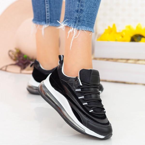 Pantofi Sport Dama YKQ172 Black Mei