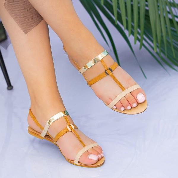 Sandale Dama HG133 Apricot Mei